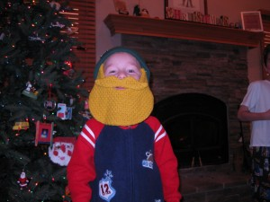 A Beard Head for Christmas