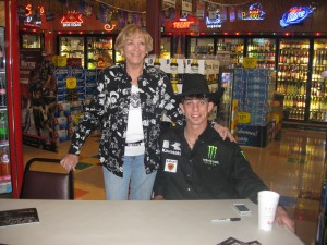 Mom and JB Mauney