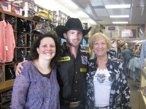 Me and mom with Douglas Duncan