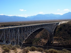 The Rio Grande Gorge Bridge, Taos, New Mexico